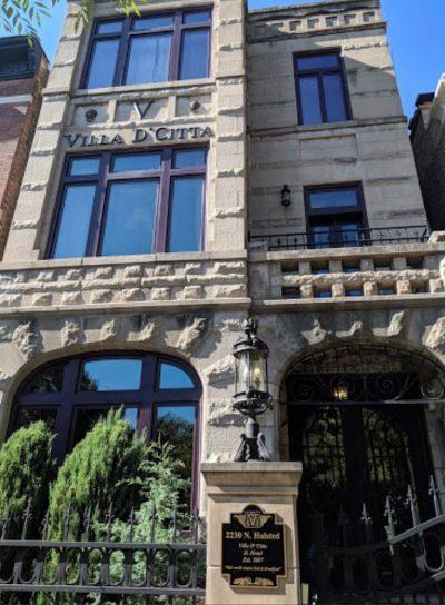 front exterior of Villa D'Citta