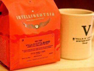 Villa D'Citta Blend coffee and mug